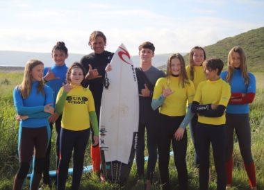 pro surfer visit